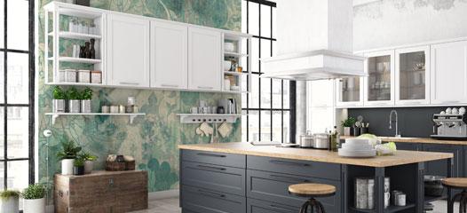 Fototapeten für die Küche | Küchentapete entdecken ...
