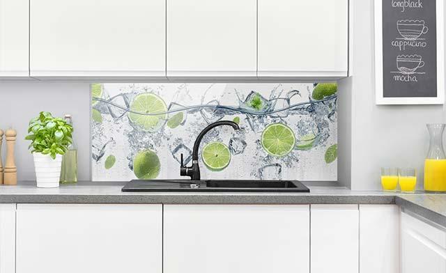 Spritzschutz Aus Glas Fur Deine Kuche Bilderwelten