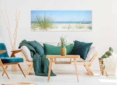 Bilder für Schlafzimmer - schönes Bild übers Bett | Gratis Versand