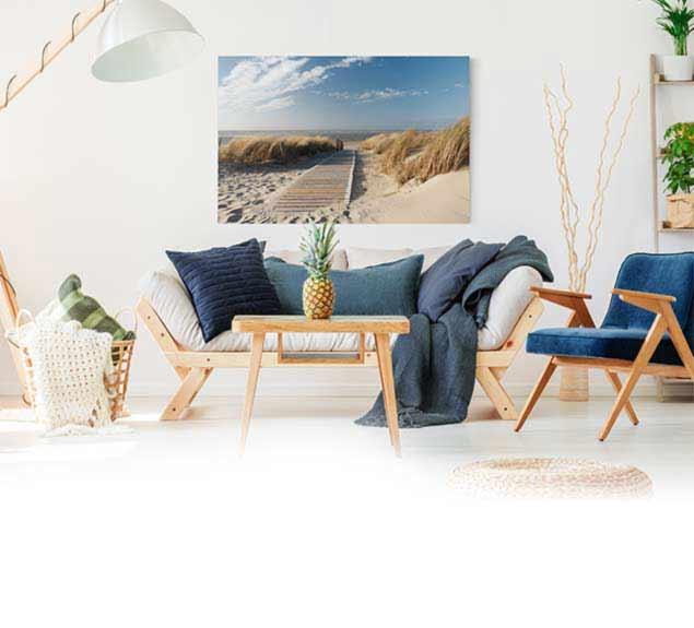 Leinwandbilder leinwanddrucke bilder kaufen bilderwelten for Wohnzimmer leinwandbilder