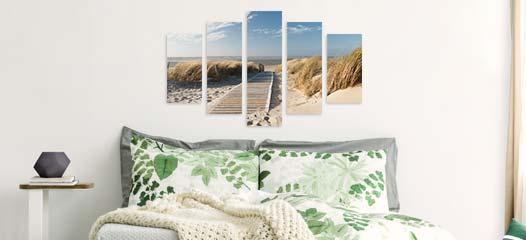 mehrteilige bilder kaufen in top qualit t gratis versand. Black Bedroom Furniture Sets. Home Design Ideas
