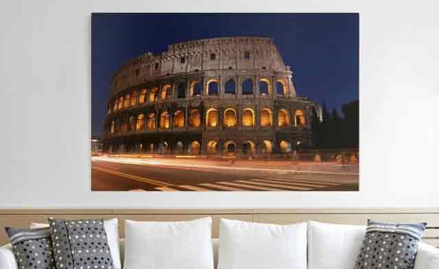 ITALIEN ROM Wandbilder xxl Bilder auf Vlies Leinwand Leinwandbilder 020113-268
