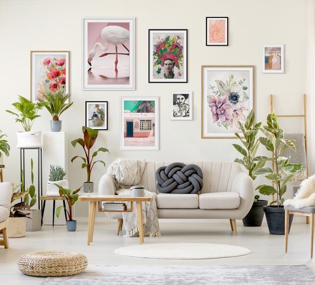Bilder mit Rahmen kaufen  Bilderwelten