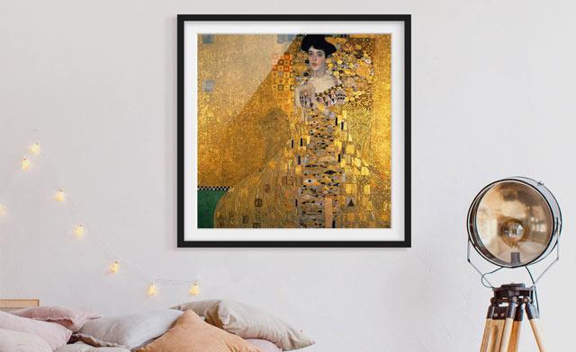 Gerahmte Bilder fürs Wohnzimmer im Echtholz-Rahmen  Bilderwelten