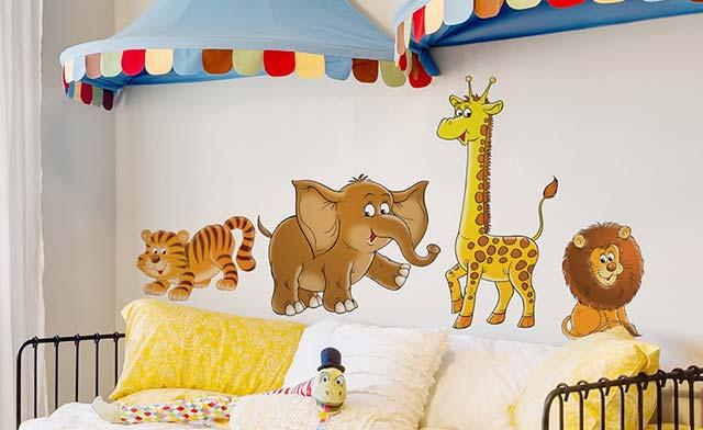 Wandtattoo Elefant Auf Markenfolie Bilderwelten