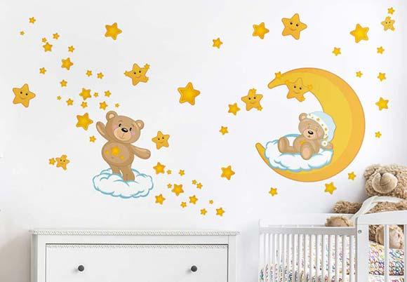Wandsticker Baby | Wandtattoos fürs Babyzimmer | Bilderwelten.de