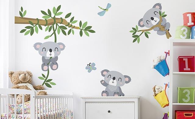 Wandtattoo Kinderzimmer Auf Markenfolie Bilderwelten