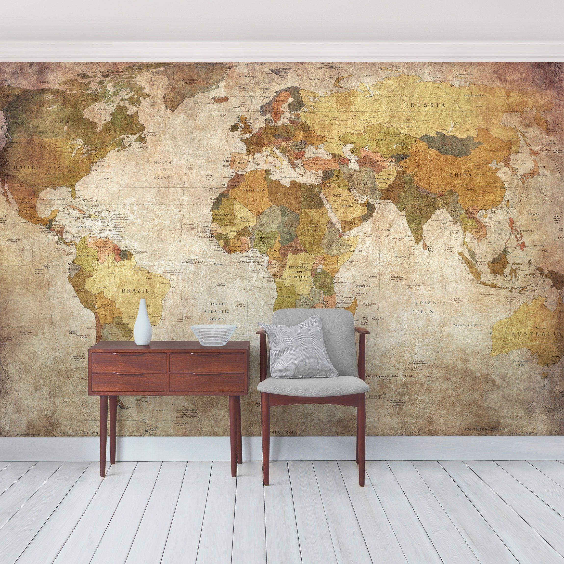 weltkarte fototapete selbstklebend weltkarte wandtapete klebend dekotapete wand ebay. Black Bedroom Furniture Sets. Home Design Ideas