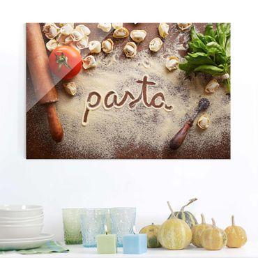 Glasbild - Pasta Italiana - Quer 3:2