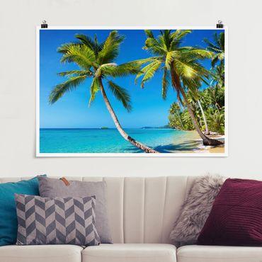 Poster - Beach of Thailand - Querformat 2:3