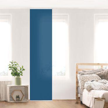 Schiebegardinen Set - Preussisch-Blau - Flächenvorhänge