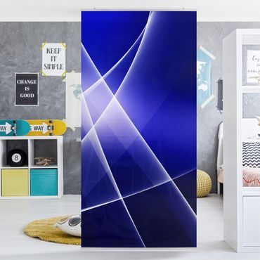 Raumteiler - Blue Disco 250x120cm