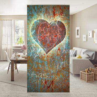 Raumteiler - Lovely Thoughts 250x120cm