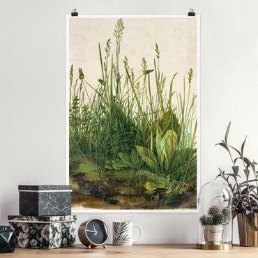 Poster - Albrecht Dürer - Das große Rasenstück - Hochformat 3:2