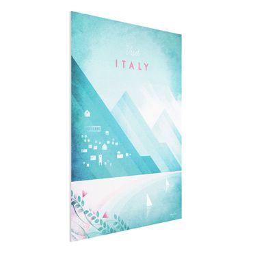 Forex Fine Art Print - Reiseposter - Italien - Hochformat 4:3