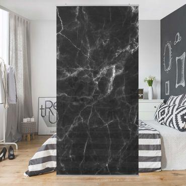 Raumteiler - Nero Carrara 250x120cm