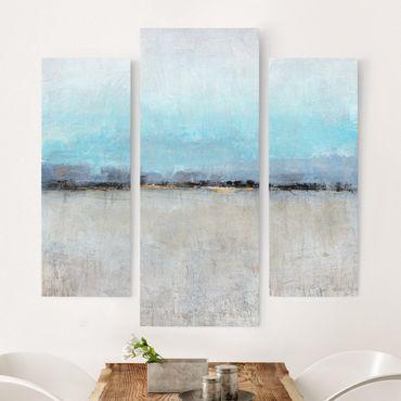 Leinwandbild 3-teilig - Grenzenlose Weite I - Galerie Triptychon
