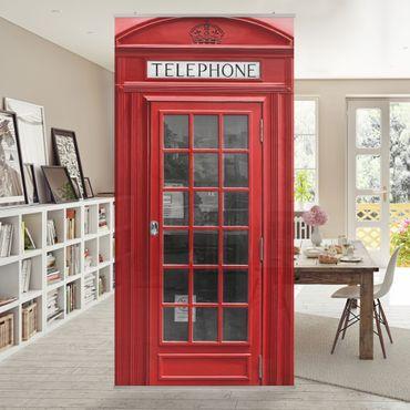 Raumteiler - Telephone 250x120cm