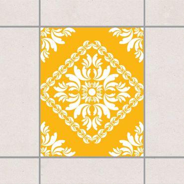 Fliesenaufkleber - Vera Rosa Lemon Yellow Gelb