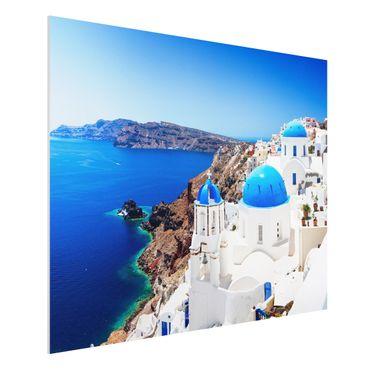 Forexbild - View Over Santorini