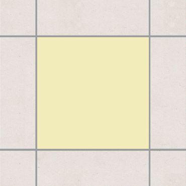 Fliesenaufkleber - Colour Crème Beige