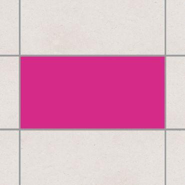 Fliesenaufkleber - Pink Pink