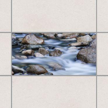Fliesenaufkleber - Fluss in Kanada