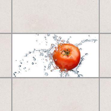 Fliesenaufkleber - Frische Tomate