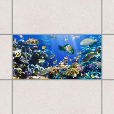 Fliesenaufkleber - Underwater Reef