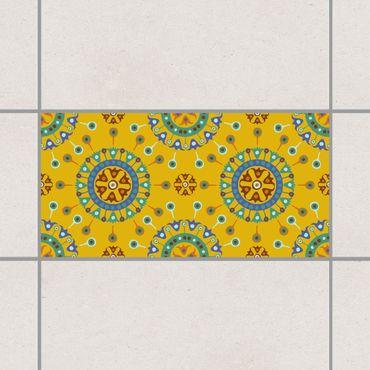 Fliesenaufkleber - Wayuu Design