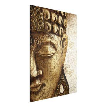 Alu-Dibond Bild - Vintage Buddha