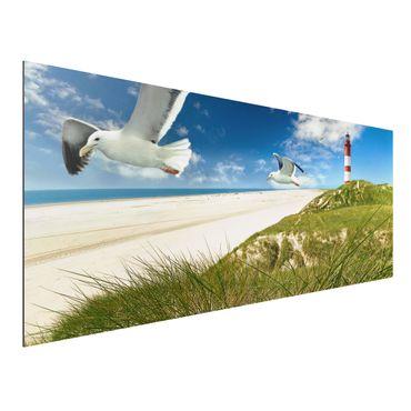 Alu-Dibond Bild - Dune Breeze