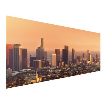 Alu-Dibond Bild - Skyline of Los Angeles