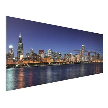 Forexbild - Chicago Skyline bei Nacht