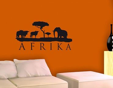 Wandtattoo Elefant No.BR168 Afrika