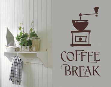 Wandtattoo Sprüche - Wandworte No.SF317 Coffee Break 5