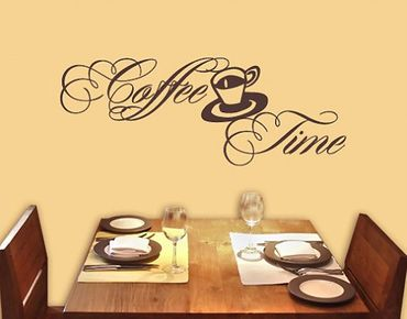 Wandtattoo Sprüche - Wandworte No.SF320 Coffee Time 6