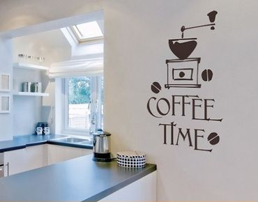 Wandtattoo Sprüche - Wandworte No.SF318 Coffee Time 5