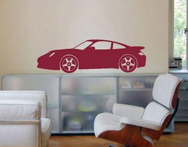 Wandtattoo No.347 Porsche