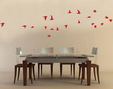 Wandtattoo Vögel No.61 Vogelschwarm