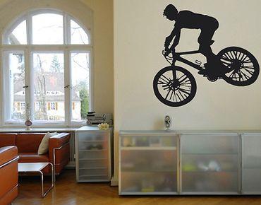 Wandtattoo No.UL242 Biker