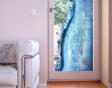 Fensterfolie - Sichtschutz Fenster Beautiful Wave - Fensterbilder