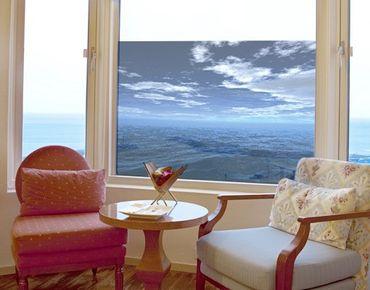 Fensterfolie - Sichtschutz Fenster Dark Water - Fensterbilder
