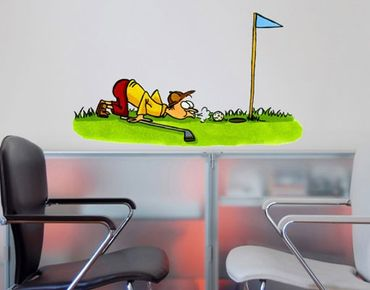 Wandtattoo Kinderzimmer No.22 Golfer Kreativ