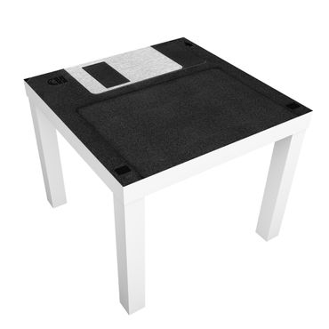Möbelfolie für IKEA Lack - Klebefolie Floppy Disk