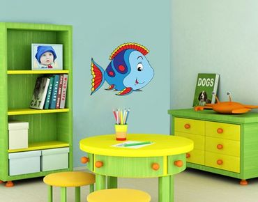 Wandtattoo Kinderzimmer No.41 Spaß Fischlein
