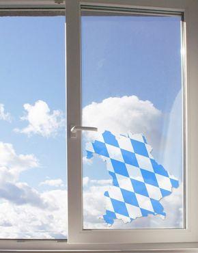 Fensterfolie - Fenstersticker No.65 Bayern - Fensterbilder