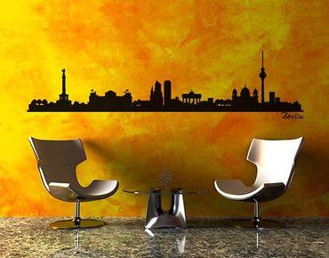 Wandtattoo Skyline No.SF477 Berlin Skyline