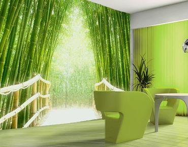 "Papiertapete - Fototapete Bambus No.9 ""BAMBOO WALK"" 400x280cm"