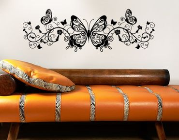 Wandtattoo Schmetterling No.383 Butterfly Ornament